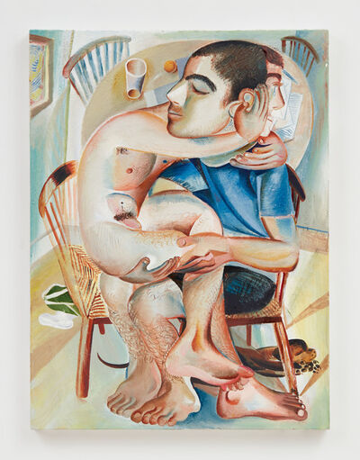 Louis Fratino, 'Sitting on your lap', 2019