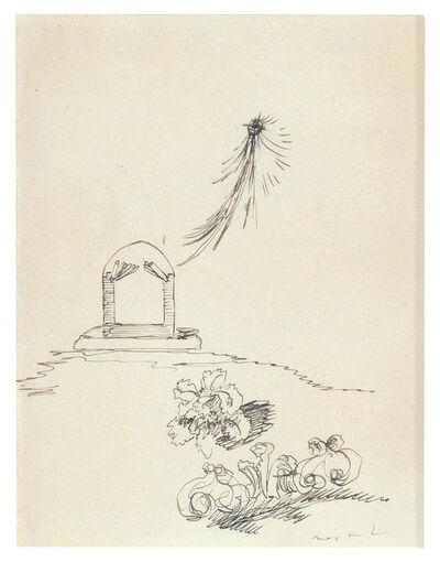 Max Ernst, 'Comète et Fleurs', 1920