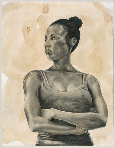 Robert Pruitt, 'Untitled (Female Celestial Body)', 2016