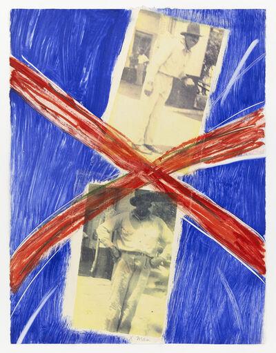 Emma Amos, 'X Man', 1992