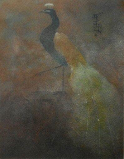 Abanindranath Tagore, 'Peacock', 1900's