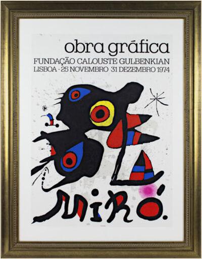 Joan Miró, 'Obra Graphica', 1974