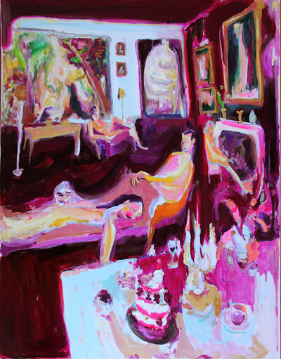 Bradley Wood, 'Larchmont Feast', 2020