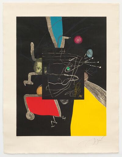 Joan Miró, 'Llibre dels sis sentits V', 1981