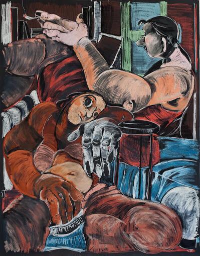 Cristina BanBan, 'El descansillo', 2020