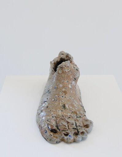 Elsa Sahal, 'Alfred glaze grog foot', 2018