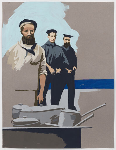 """Matthew Benedict, 'Study for the """"The Sea Cook""""', 2016"""