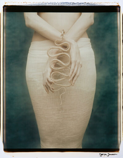 Joyce Tenneson, 'Suzanne with Snake, Part II', 1991