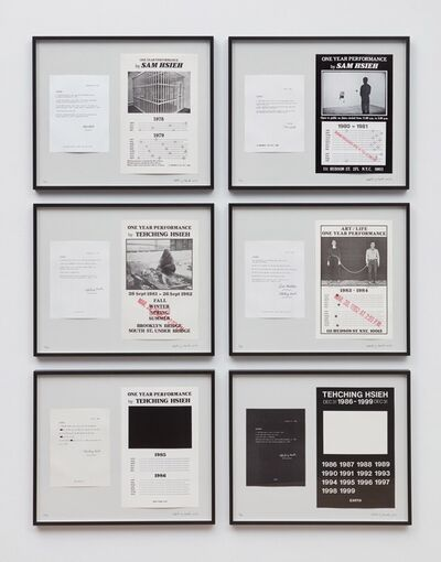 Tehching Hsieh, 'Tehching Hsieh 1978 - 1999', 1978-1999