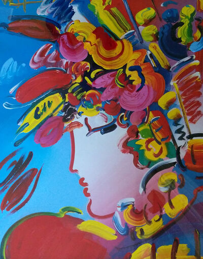 Peter Max, 'Blushing Beauty Unique', 2002