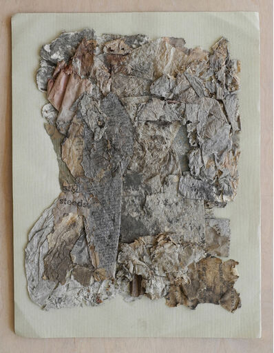 herman de vries, 'collage trouvé 30 jan. 1961', 1961