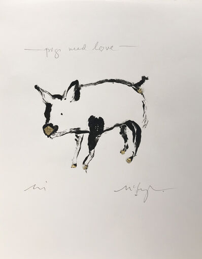 Larry McLaughlin, 'Pigs Need Love', 2019