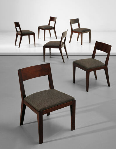 Jean Royère, 'Set of six dining chairs', ca. 1935