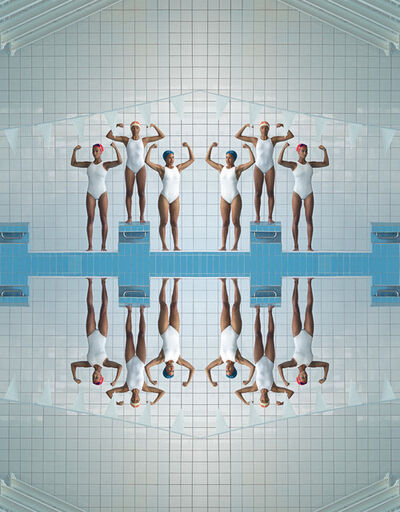 Maria Svarbova, 'Girl Power, Pool 2020 ', 2020
