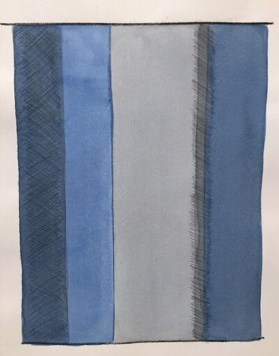 Gail Flanery, 'Untitled, Blue', 1971