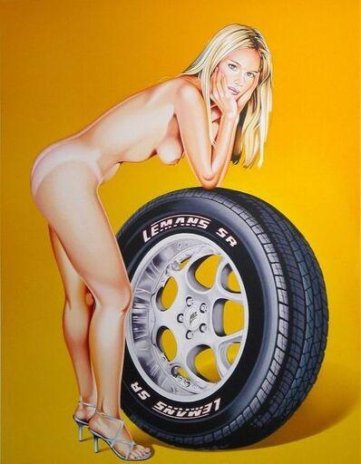 Mel Ramos, 'Tyra Tyre', 2004