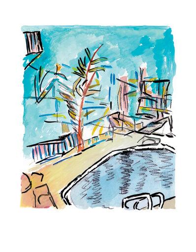 Bob Dylan, 'Motel Pool - Medium - 2013', 2013