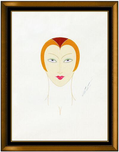 Erté (Romain de Tirtoff), 'Tete de Mannequin', 20th Century