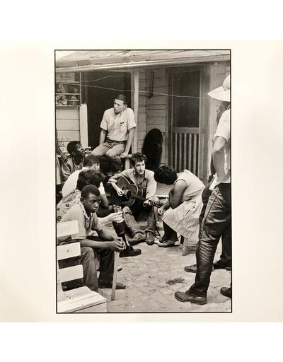 Danny Lyon, 'Bob Dylan Behind SNCC Office, Greenwood, Mississippi, 1963 ', 1963