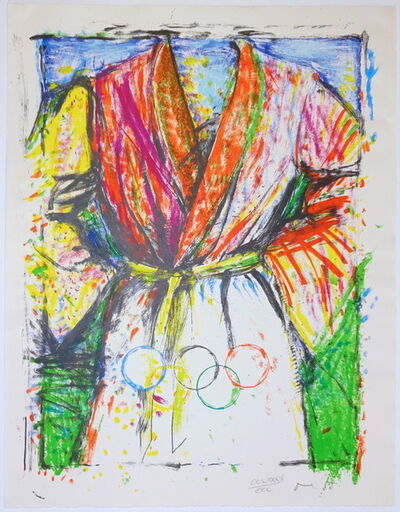 Jim Dine, 'Robe (Olympic)', 1988