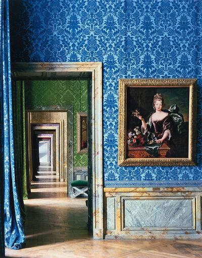 Robert Polidori, 'Anne Louise Bénédicte de Bourbon, Duchesse du Maine, Attributed to Francois de Troy, Salle Les Princesses Royales (86) and ANR.02.004, Salles du XVII, Aile du Nord, 1er Etage, Versailles', 1984