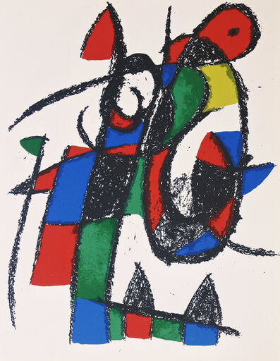 Joan Miró, 'Lithograph II no 5', 1975