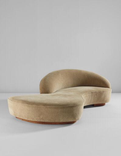 """Vladimir Kagan, 'Custom """"Serpentine"""" sofa', 2003"""