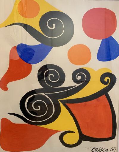 Alexander Calder, 'Sandy Graphie', 1969