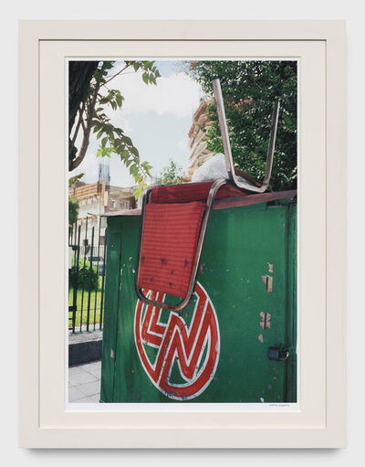 William Eggleston, 'Untitled (Upside down chair, Mexico)', 2001