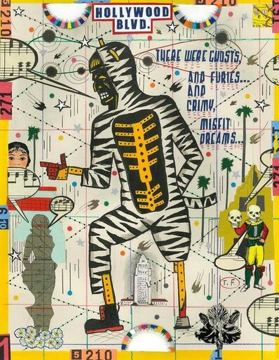 Tony Fitzpatrick, 'Tiger Man Wants To Dance'