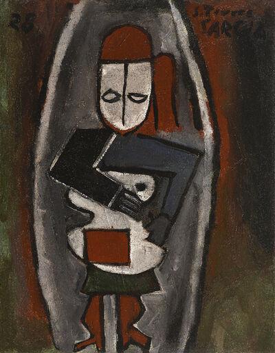 Joaquín Torres-García, 'Femme Abstraite', 1928