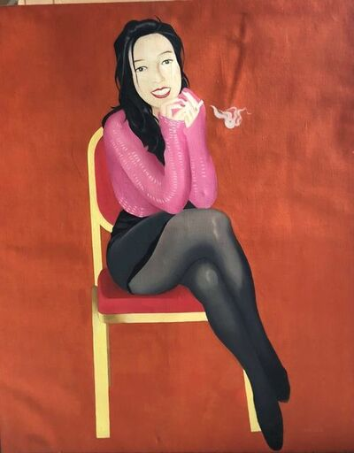 Yang Fan, 'Smoking Girl 抽烟的女孩 ', 1998