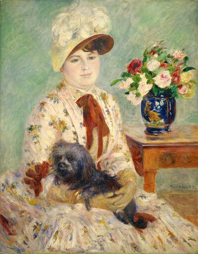 Pierre-Auguste Renoir, 'Mlle Charlotte Berthier', 1883