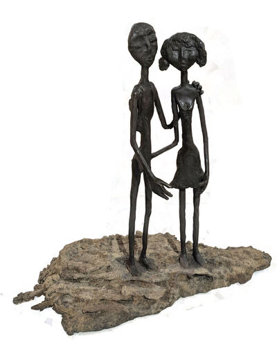 Ruth Bloch, 'Couple on Stone', 2016-2018