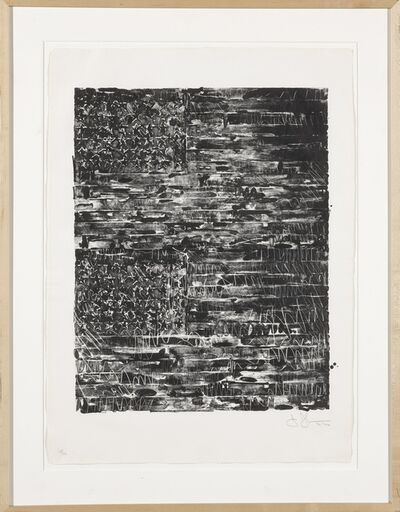 Jasper Johns, 'Two Flags (ULAE 121)', 1972