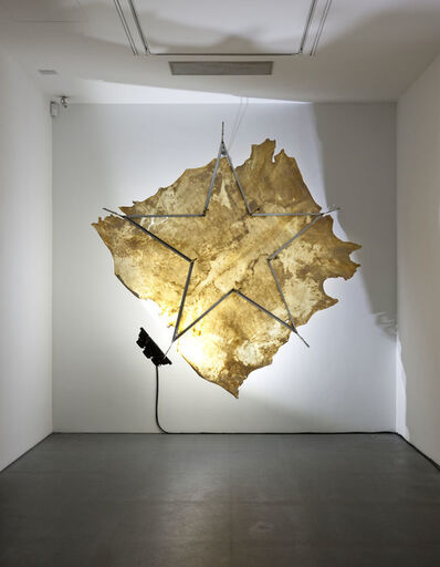 Gilberto Zorio, 'Pergamena di luce', 2015