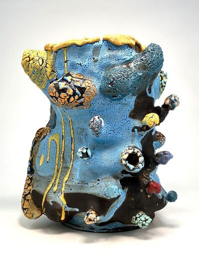 Vince Palacios, 'Potato Tree with Vines - Cosmic Blue', 2020