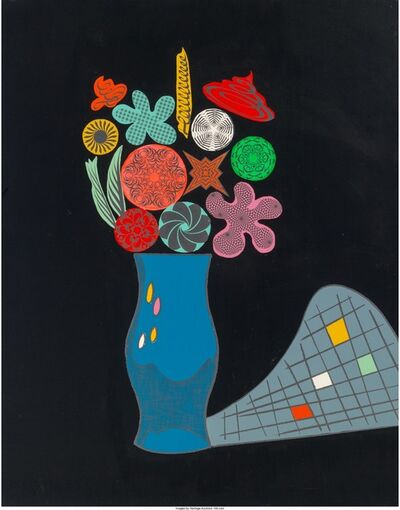 Ronnie Cutrone, 'Geo Flora', 1987