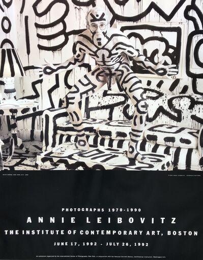 Annie Leibovitz, ' Original Exhibition Poster by Keith Haring', 1992