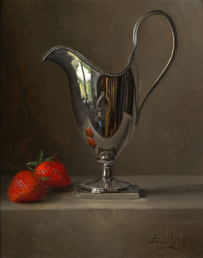 W.O. Ewing, 'Silver and Strawberries', Active Contemporary