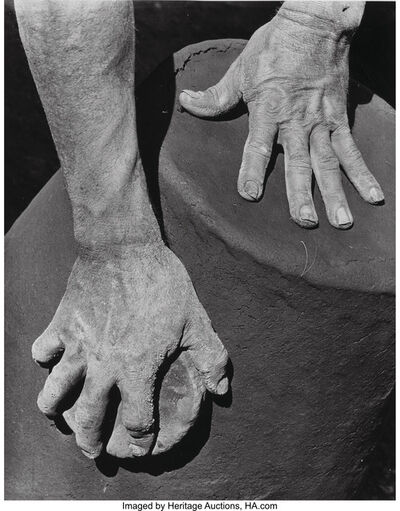 Anton Bruehl, 'Hands of the Potter', 1932