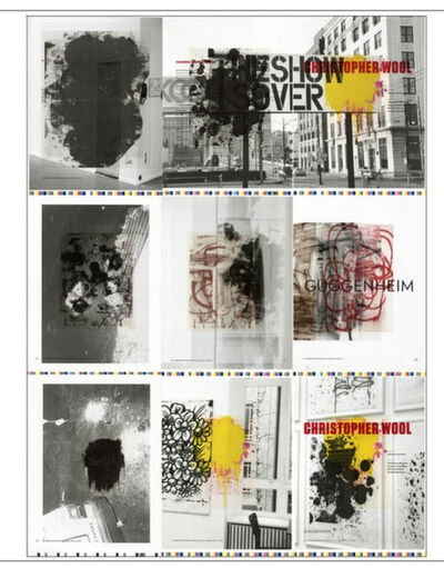 "Christopher Wool, '""The Show is Over"" ', 2013"