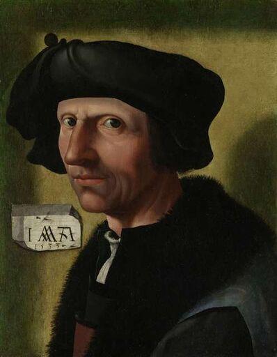 Workshop of Jacob Cornelisz. van Oostsanen, 'Portrait of Jacob Cornelisz van Oostsanen', ca. 1533