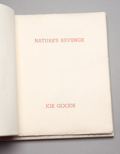 Joe Goode, 'Nature's Revenge ', 1993