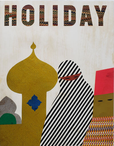 Rudolph de Harak, ' The Mohammedan World - Holiday Magazine Cover (unpublished)', 1962