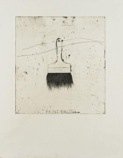 Jim Dine, 'Paintbrush (Krens 132)', 1971