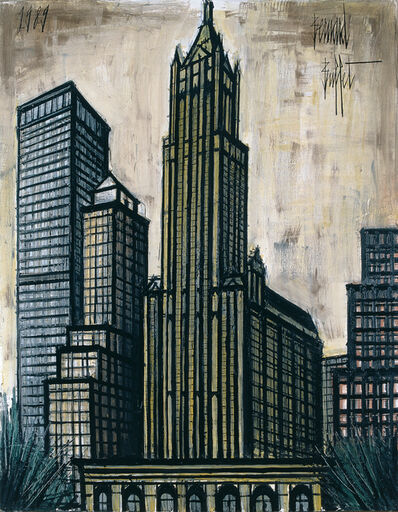 Bernard Buffet, 'Woolworth Building', 1989