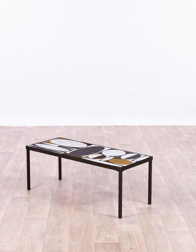 Roger Capron, 'Table basse modèle Ellipses', vers 1960