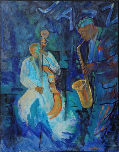 Evelyne Ballestra, 'Jazz', 2016
