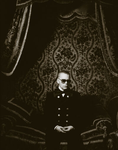 Herb Ritts, 'Karl Lagerfeld, Paris', 1991
